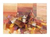 Firenze astratta Prints by Luigi Florio