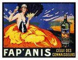 Fap' Anis, ca. 1920-1930 Prints by  Delval