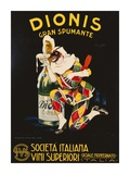 Dionis, 1928 Plakater af Plinio Codognato