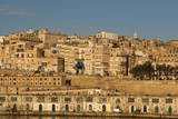 View of the Old Town from the Grand Harbour in the Golden Early Morning, Valletta, Malta, Europe Photographic Print by Eleanor Scriven