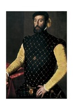 Garcilaso De La Vega Print by Jacopo da Carucci Pontormo