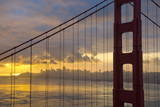 Golden Gate Bridge at Sunrise, San Francisco, California, United States of America, North America Photographic Print by Stuart Black