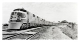 Santa Fe Super Chief Train, 1938 Print by Philip Gendreau