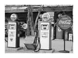 Gas Station Route 66 Prints by Richard Cummins