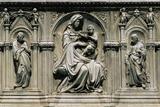 Madonna med barnet Photo af Jacopo Della Quercia