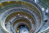 Spiral Staircase, by Giuseppe Momo, Dating from 1932, Vatican Museums, Rome, Lazio, Italy, Europe Photographic Print by Peter Barritt