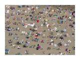 Aerial View of Beach, Spain Posters by Yann Arthus-Bertrand