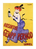 Absinthe Gempp Pernod, 1903 Posters by Leonetto Cappiello