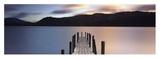 Twilight on Lake Kunst von Peter Adams