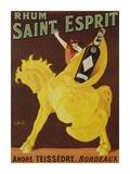 Rhum Saint Esprit, 1919 Posters by J. Spring
