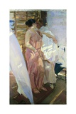 After the Bath Giclee Print by Joaquin Sorolla