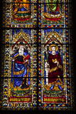 Stained Glass Windows in the Basilica Di Santa Maria Del Fiore (Florence Cathedral) Photographic Print by  Julian