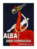 Alba Grand Vin Mousseux, ca. 1928 Poster by  Andre
