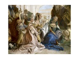 Continence of Alexander the Great Prints by Giovanni Battista Tiepolo