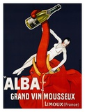 Alba Grand Vin Mousseux, ca. 1928 Print by  Andre