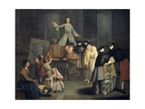 The Tooth Extractor Giclee Print by Pietro Longhi