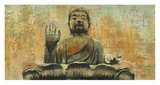 Buddha the Enlightened Prints by Dario Moschetta