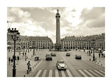 Place Vendome, Paris Print by Vadim Ratsenskiy
