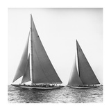 Sailboats in the America's Cup, 1934 Prints by Edwin Levick