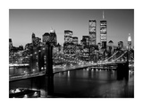 Brooklyn Bridge, NYC Print by Richard Berenholtz