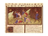 Bertrand Du Guesclin (1315-1380) Teaching Young People How to Fight Posters