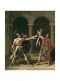 The Oath of the Horatii Affiches par Jacques-Louis David