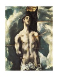 Saint Sebastian Prints by  El Greco