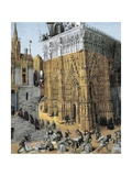 Building of the Temple of Jerusalem Prints