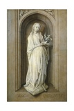 St. Genevieve. C. 1467-82 Prints by Hugo van der Goes