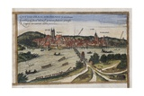 View of Frankfurt an Der Oder Art by Abraham Ortelius