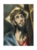 Christ Clasping the Cross Prints by  El Greco
