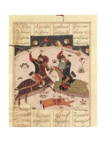Bahram Chubina's Night Attack Khusrau Parviz Premium Giclee Print