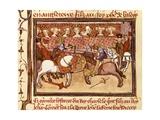 Lancers at Tournament King Charles V of France's Reign Print