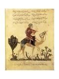 Soldier on Camelback, Assemblies of Al-Hariri Posters by Yahya ibn Mahmud Al-Wasiti