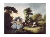 Landscape Prints by Manuel Barron y Carrillo