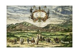 View of Granada Giclee Print by Abraham Ortelius