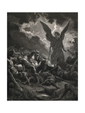 Angel of Yahweh of the Army of Sennacherib Print
