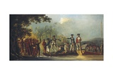 Cook Landing at Malekula, One of the New Hebrides 1774 Giclee Print by William Hodges