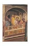 St. Eligius before King Clothar Prints by Taddeo Gaddi