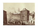 View of the University of Cervera Prints by Francesco Xavier Boada Parcerisa