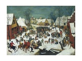 Massacre of the Innocents Prints by Pieter Bruegel the Elder