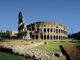 Colosseum or Flavian Amphitheatre Photo