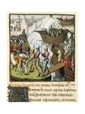 Seventh Crusade Poster by Vincent de Beauvais