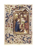 Nativity Scene Print by Willem Vrelant