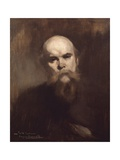 Paul Verlaine, Symbolist Port Reproduction procédé giclée par Eugene Carriere
