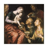 Adoration of the Magi Prints by Pieter de Kempeneer