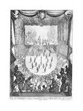 La Liberazione Di Tirenno E D'Arnea Print by Jacques Callot