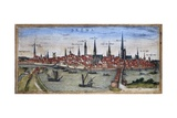 View of Bremen Giclee Print by Abraham Ortelius