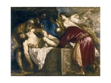 Entombment of Christ Posters af Titian (Tiziano Vecelli)