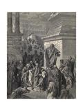 Jonah Exhorts the Ninevites to Penance Prints